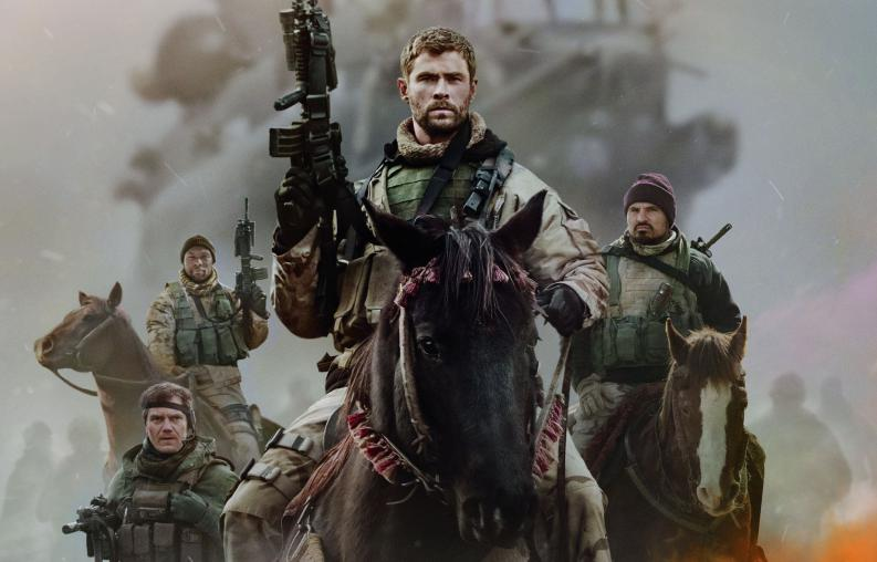 Chris Hemsworth en 12 strong la película