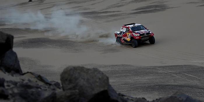 Dakar 2018 Nasser Al Attiyah toyota 3