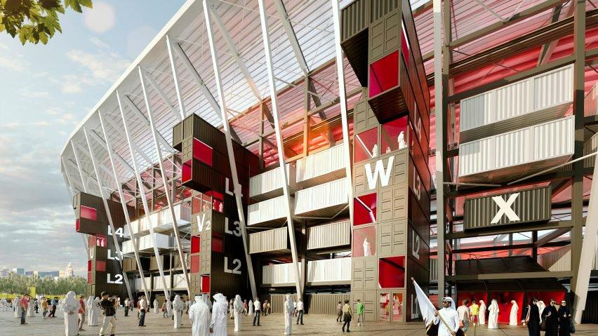 El estadio mundialista que surgió de una caja de 'Lego' - Ras Abu Aboud