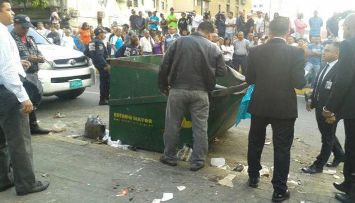 Hallan cadáver desmembrado en contenedor de basura
