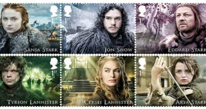 Servicio postal del Reino Unido venderá sellos de Juego de Tronos 2