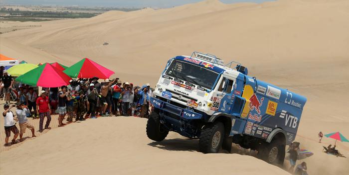 Dakar camiones