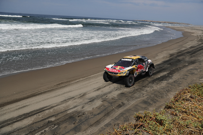 dakar carro peugeot Stephane Peterhansel