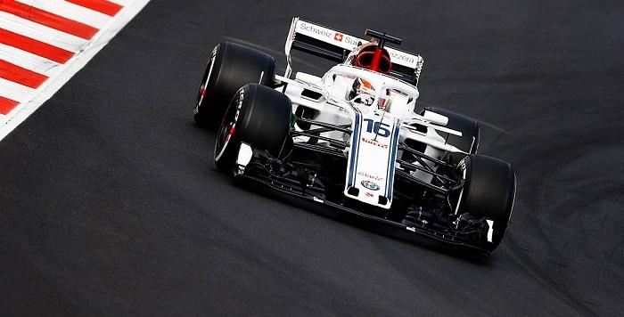 Charles Leclerc alfa romeo formula 1 f1 carro monoplaza - @f1