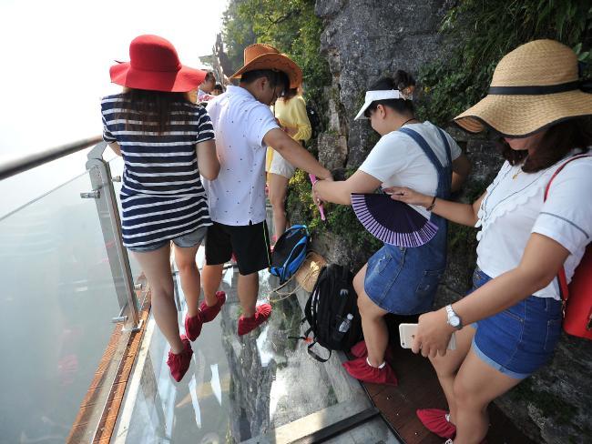 Puente de Zhangjiajie en China 4