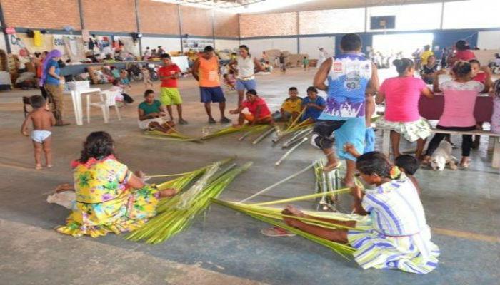 Refugio venezolanos en Roraima Brasil