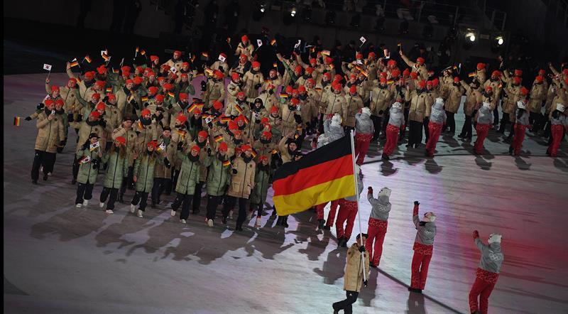 inauguracion juegos olimpicos de invierno PyeongChang 1 delegacion alemania
