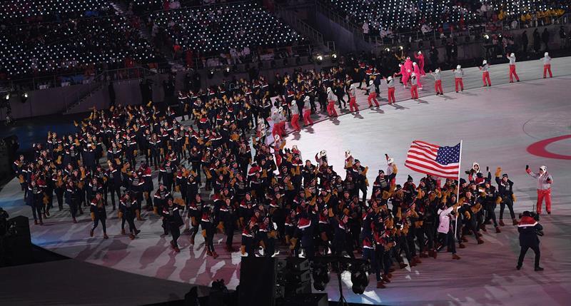 inauguracion juegos olimpicos de invierno PyeongChang 1 delegacion eeuu