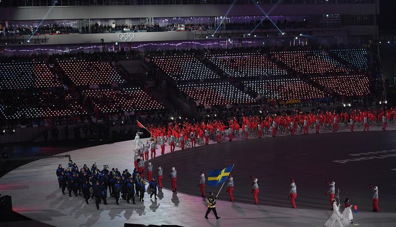 inauguracion juegos olimpicos de invierno PyeongChang 1 delegacion suecia