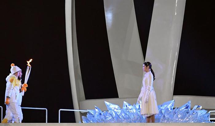 inauguracion juegos olimpicos de invierno PyeongChang 11 flama olimpica