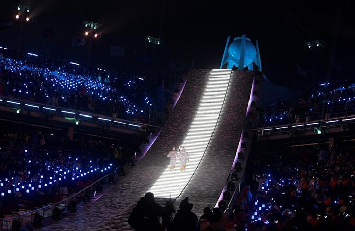 inauguracion juegos olimpicos de invierno PyeongChang 12 flama olimpica