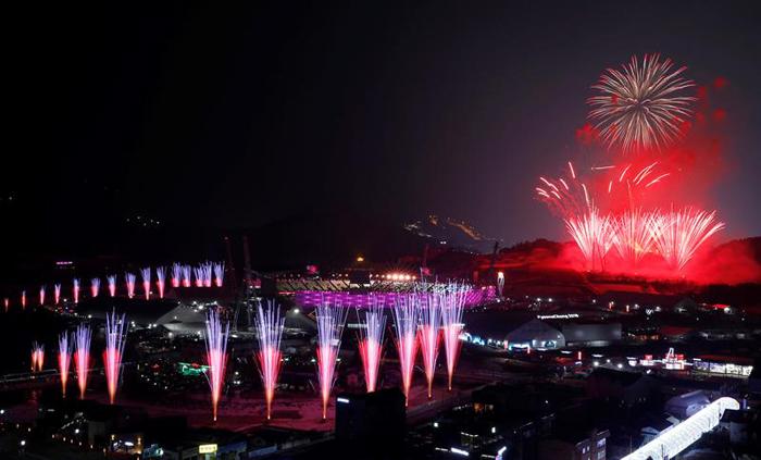 inauguracion juegos olimpicos de invierno PyeongChang 13