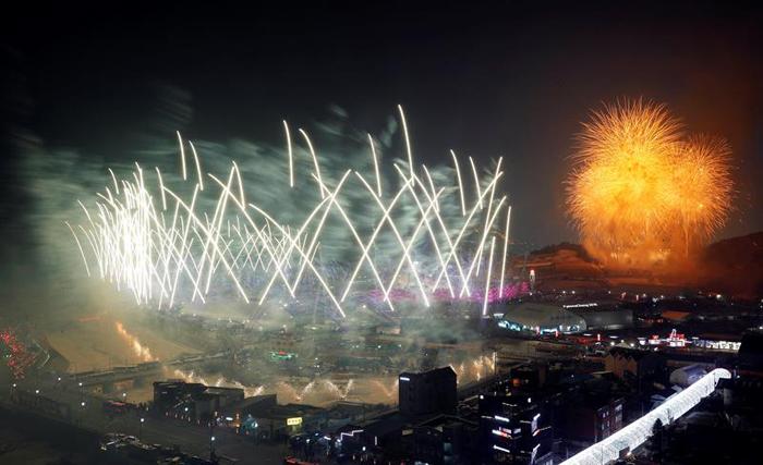inauguracion juegos olimpicos de invierno PyeongChang 14