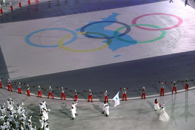 inauguracion juegos olimpicos de invierno PyeongChang 16