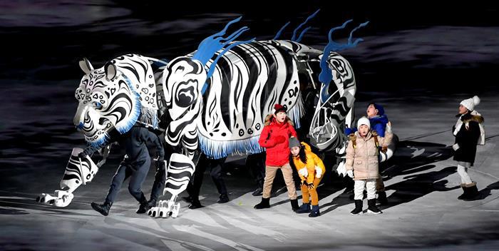 inauguracion juegos olimpicos de invierno PyeongChang 3