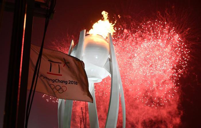 inauguracion juegos olimpicos de invierno PyeongChang 9 fuergo olimpico pedestero