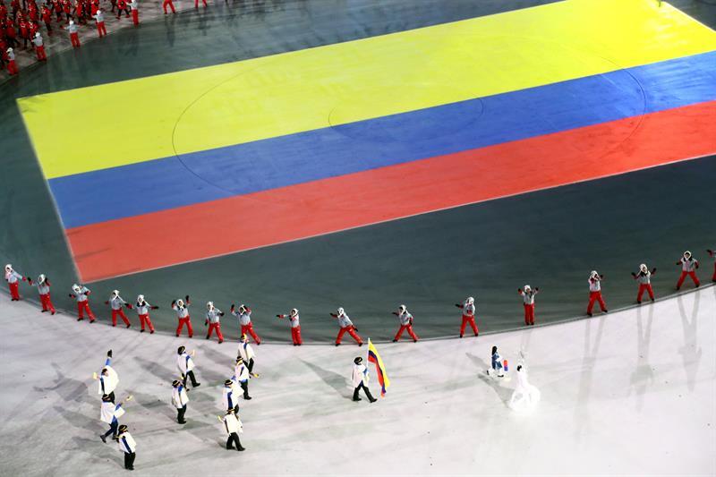 inauguracion juegos olimpicos de invierno PyeongChang delegacion colombia