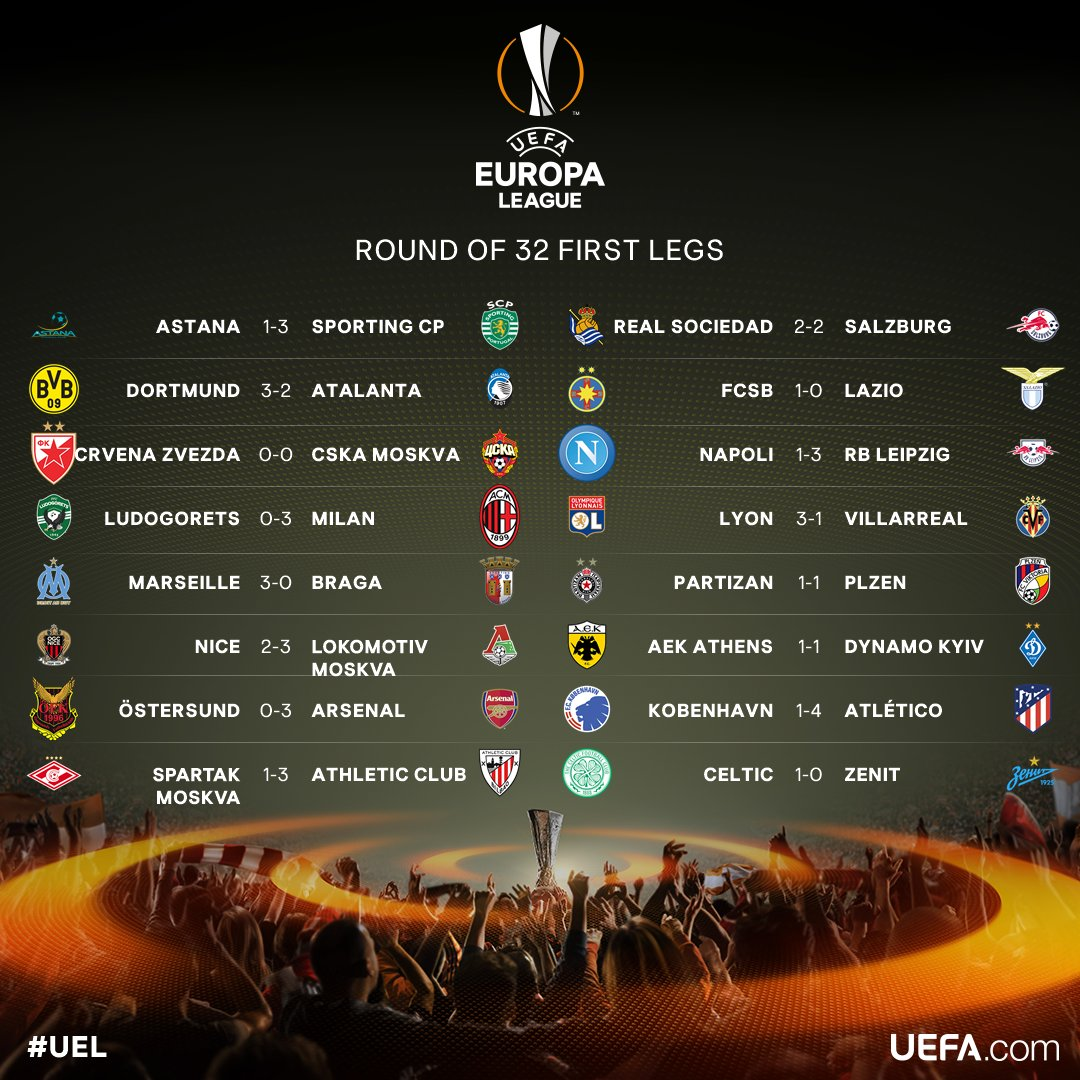 jornada europa league