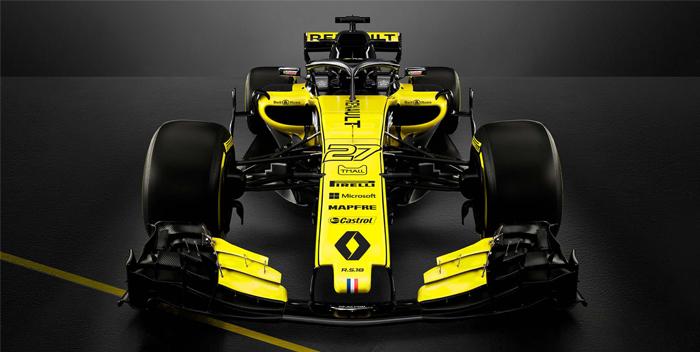 Renault presentacion carro monoplaza 2018