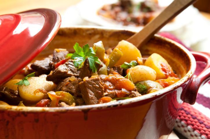 Guisado de carne con patatas