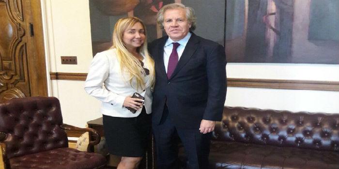 Mariela Hernández - Presidenta de Human Right Venezuela - Luis Almagro