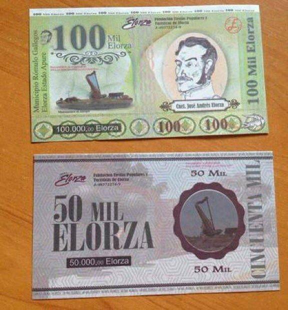 Nuevo billete Elorza que circula en Apure por la escasez de efectivo