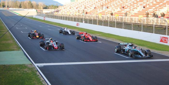 practica de salida f1 formula 1 carros monoplazas