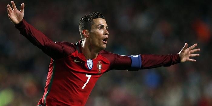 cristiano ronaldo portugal celebrando gol
