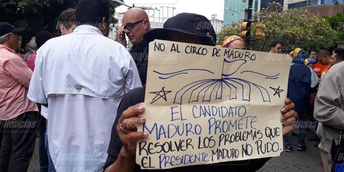 chacaito protesta 1