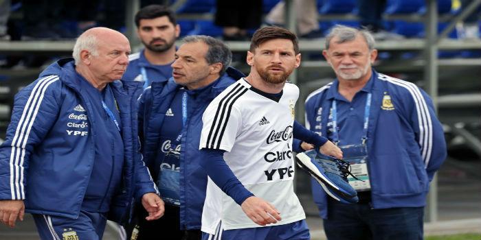 Lionel Messi práctica 1