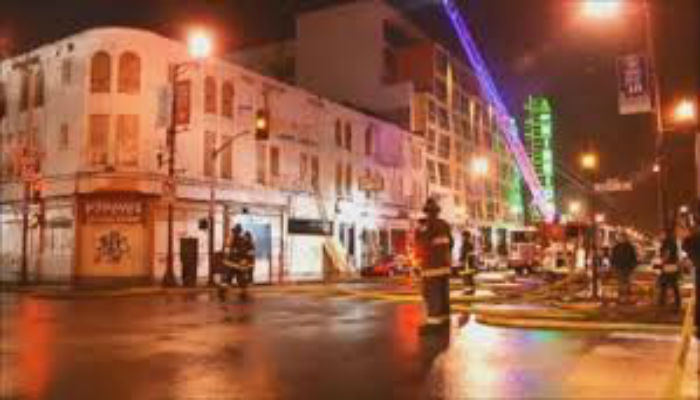 Image result for madre y sus cinco hijos fallecen en el incendio de un motel  de Michigan, en EEUU