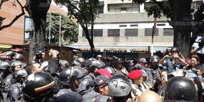 pnb policias manifestacion
