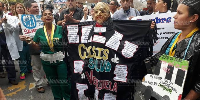protesta enfermeras