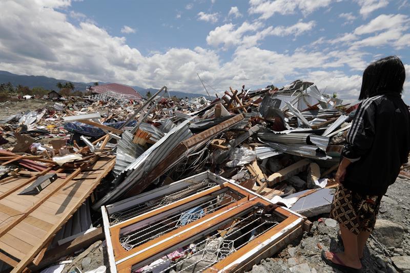 terremoto y tsunami en Indonesia