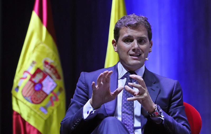 Albert Rivera de Ciudadanos. Foto: EFE