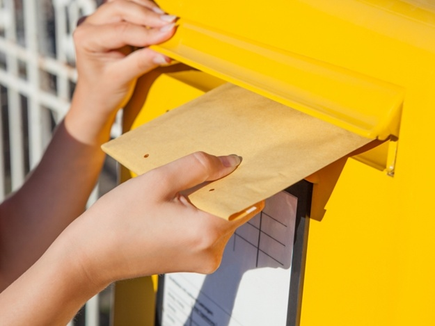 Buzón de correo - carta