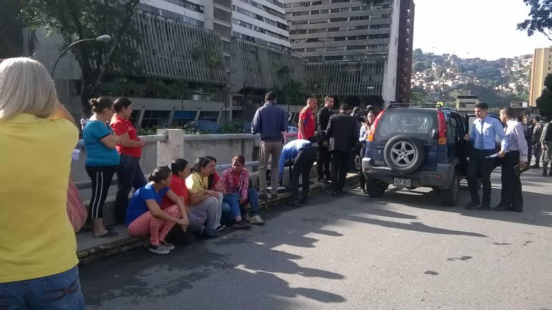 protesta Parque Central joven asesinado