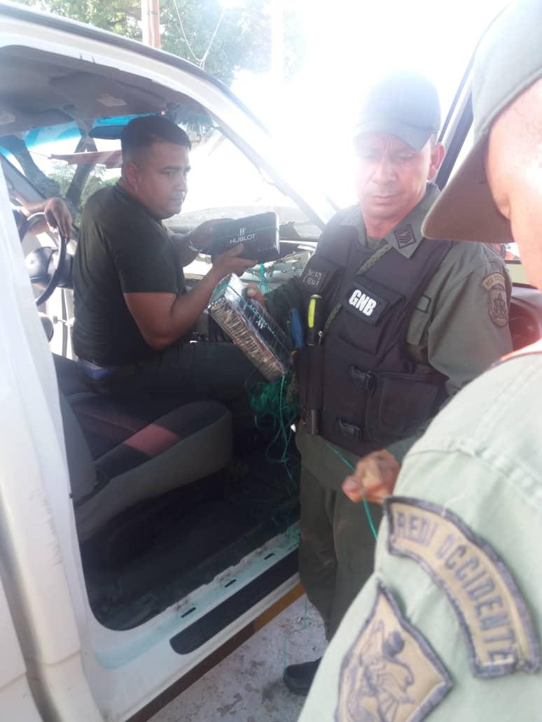 GNB decomisó más de 40 kilos de droga en Zulia 3
