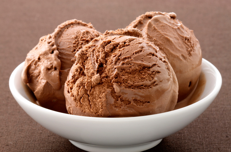 Helado de Chocolate