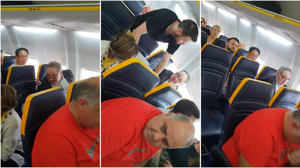 Incidente racismo en vuelo Ryanair