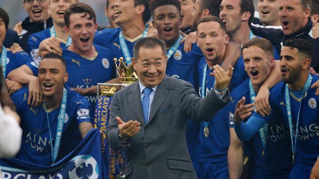 Leicester City con el dueño