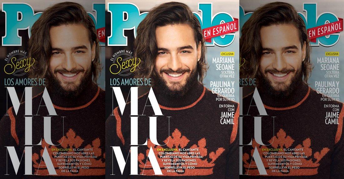 Maluma en la portada de People en Español