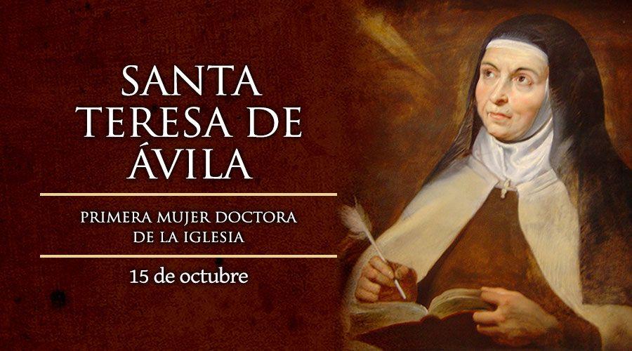Santa Teresa de Ávila - Santa Teresa de Jesús