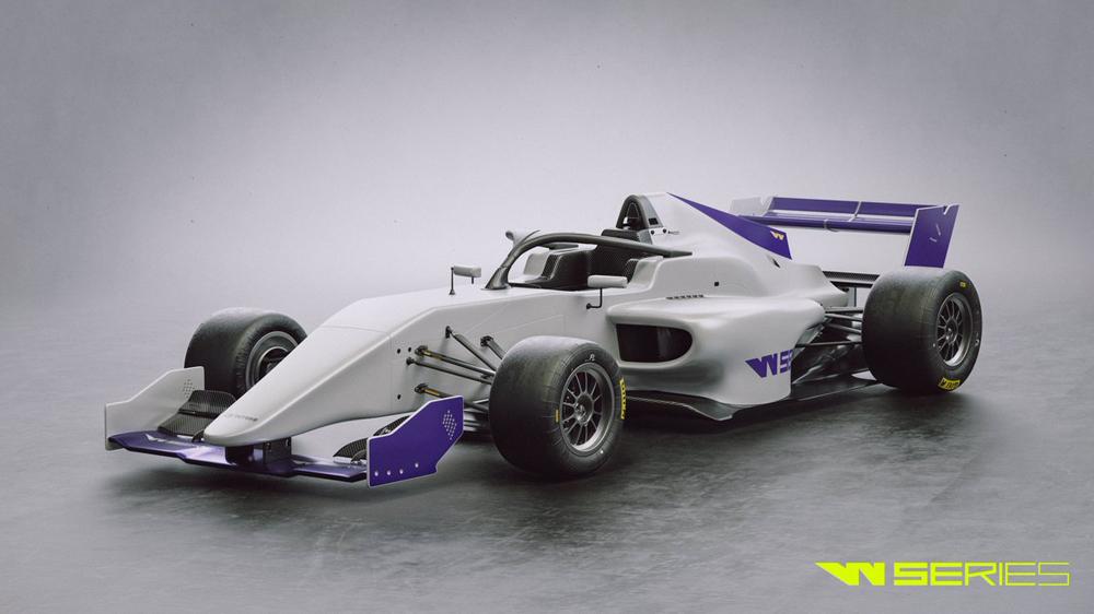 carro f3 para la w serie