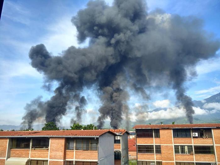 explosion de gas en guatire planta de llenado pdvsa 2