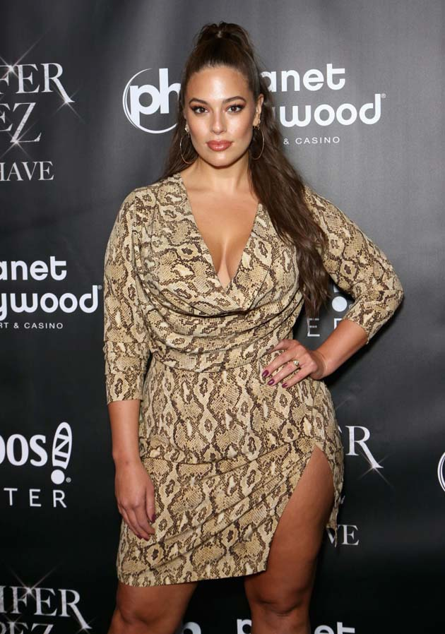 """LAS VEGAS, NV - SEPTEMBER 30:  Model and designer Ashley Graham attends the after party for the finale of the """"JENNIFER LOPEZ: ALL I HAVE"""" residency at MR CHOW at Caesars Palace on September 30, 2018 in Las Vegas, Nevada.  (Photo by Gabe Ginsberg/Getty Images)"""