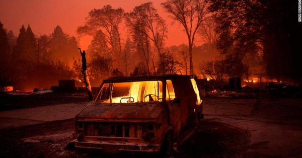 Incendios California 2