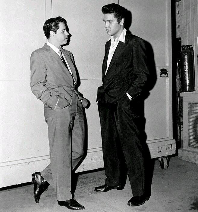 Lucho Gatica con Elvis Presley