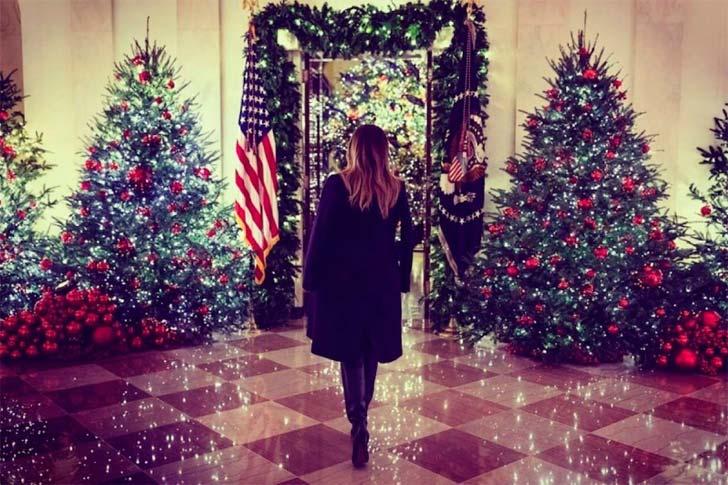 Melania Trump - Navidad en la Casa Blanca
