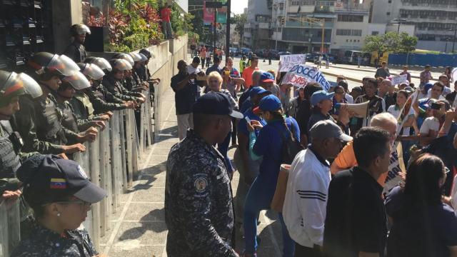 PROTESTA DOCENTES CARACAS